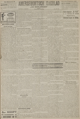 Amersfoortsch Dagblad / De Eemlander 1920-09-08