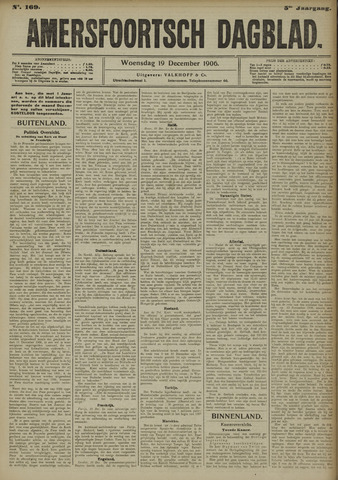 Amersfoortsch Dagblad 1906-12-19
