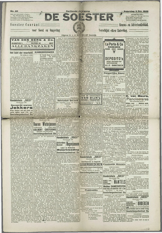 Soester Courant 1925-10-03