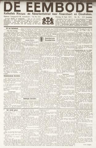 De Eembode 1917-09-25