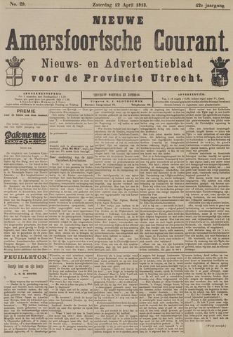 Nieuwe Amersfoortsche Courant 1913-04-12