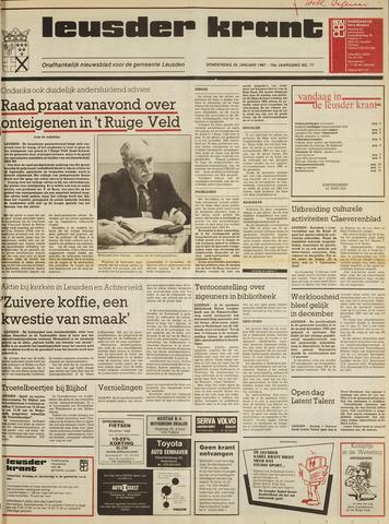 Leusder Krant 1987-01-29