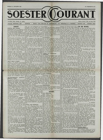 Soester Courant 1957-08-27