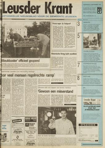 Leusder Krant 1991-09-04