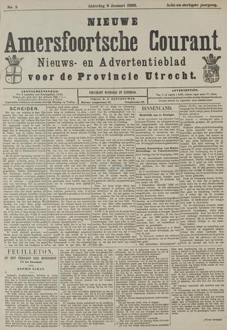 Nieuwe Amersfoortsche Courant 1909-01-09
