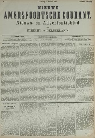 Nieuwe Amersfoortsche Courant 1887-01-22