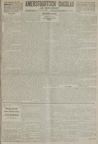 Amersfoortsch Dagblad / De Eemlander 1918-02-14