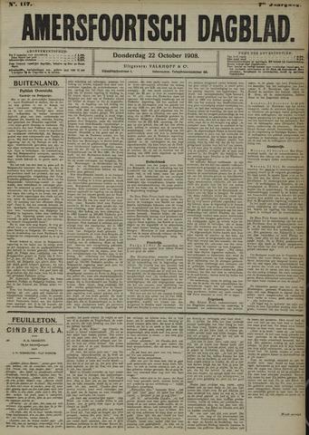 Amersfoortsch Dagblad 1908-10-22
