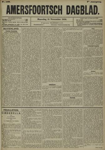 Amersfoortsch Dagblad 1908-11-16