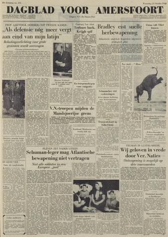 Dagblad voor Amersfoort 1950-10-25