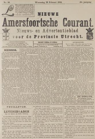 Nieuwe Amersfoortsche Courant 1916-02-23