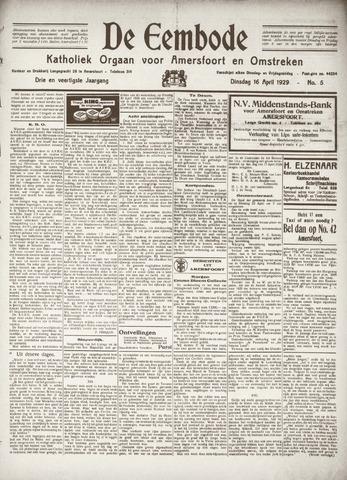 De Eembode 1929-04-16