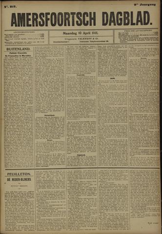 Amersfoortsch Dagblad 1911-04-10