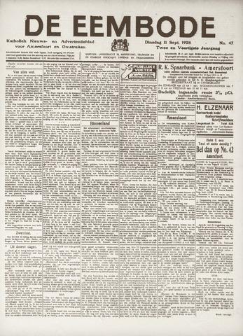 De Eembode 1928-09-11