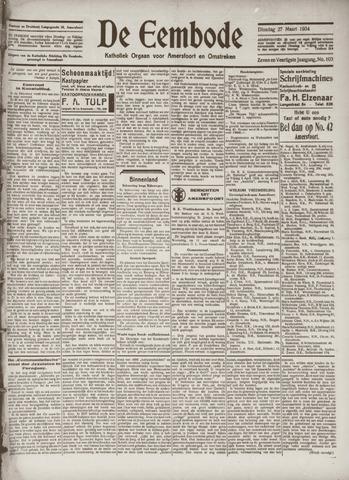 De Eembode 1934-03-27