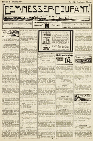 Eemnesser Courant 1924-11-18