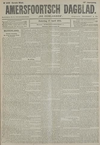 Amersfoortsch Dagblad / De Eemlander 1915-04-17