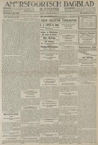 Amersfoortsch Dagblad / De Eemlander 1928-04-05