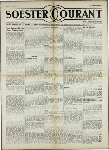 Soester Courant 1959-03-06