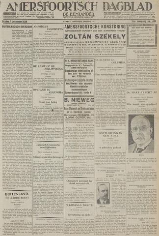 Amersfoortsch Dagblad / De Eemlander 1928-12-07