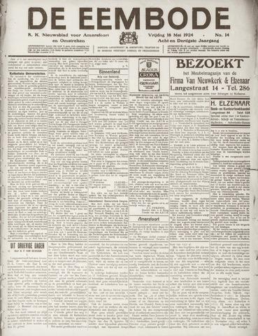 De Eembode 1924-05-16