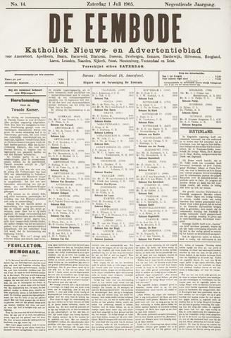 De Eembode 1905-07-01