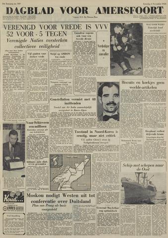 Dagblad voor Amersfoort 1950-11-04