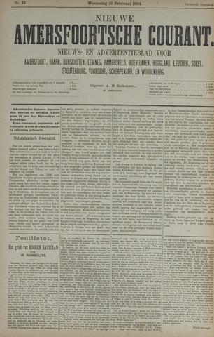 Nieuwe Amersfoortsche Courant 1884-02-13