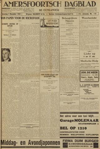 Amersfoortsch Dagblad / De Eemlander 1932-11-05