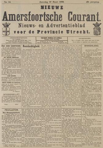 Nieuwe Amersfoortsche Courant 1920-03-27