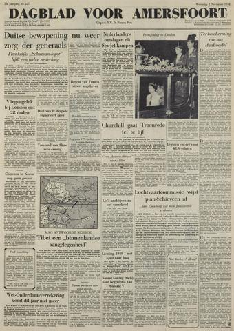 Dagblad voor Amersfoort 1950-11-01