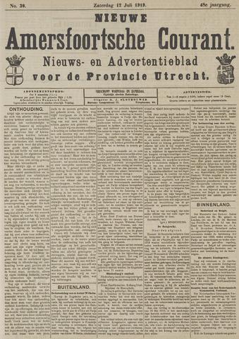 Nieuwe Amersfoortsche Courant 1919-07-12