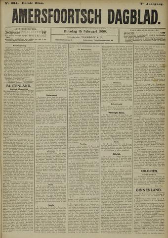Amersfoortsch Dagblad 1909-02-16