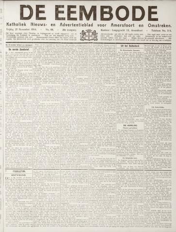 De Eembode 1914-11-27