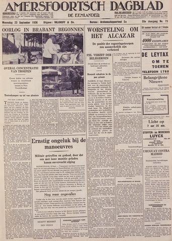 Amersfoortsch Dagblad / De Eemlander 1936-09-23