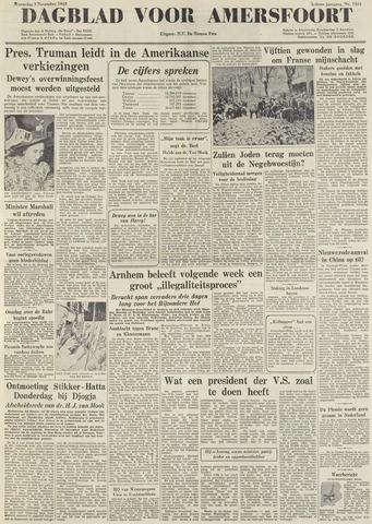 Dagblad voor Amersfoort 1948-11-03