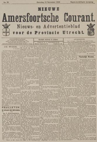 Nieuwe Amersfoortsche Courant 1910-11-12