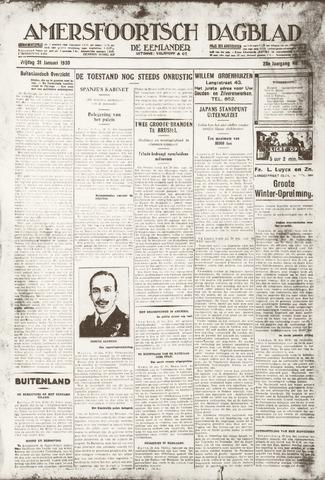 Amersfoortsch Dagblad / De Eemlander 1930-01-31