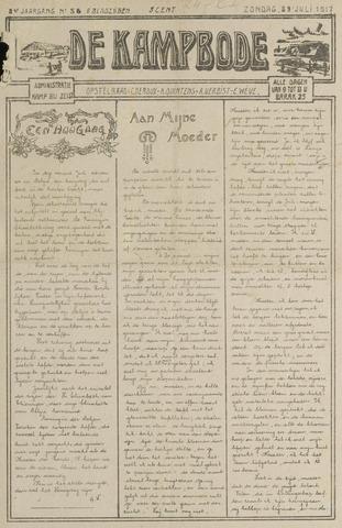 De Kampbode 1917-07-29