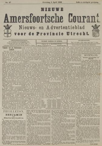 Nieuwe Amersfoortsche Courant 1909-04-03