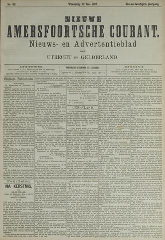 Nieuwe Amersfoortsche Courant 1892-06-22