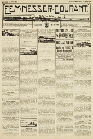 Eemnesser Courant 1924-06-24