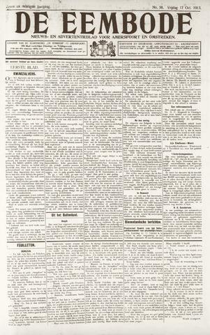 De Eembode 1913-10-17