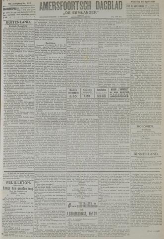 Amersfoortsch Dagblad / De Eemlander 1921-04-25