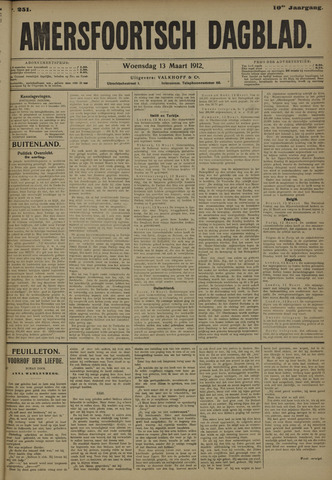 Amersfoortsch Dagblad 1912-03-13