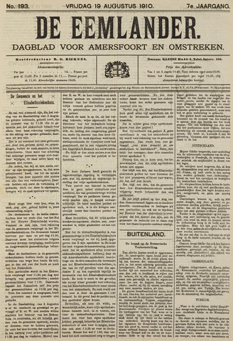 De Eemlander 1910-08-19