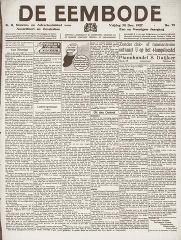 De Eembode 1927-12-30
