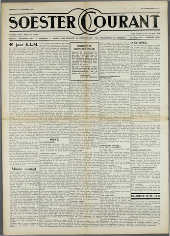 Soester Courant 1959-09-22