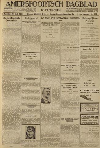 Amersfoortsch Dagblad / De Eemlander 1932-04-20