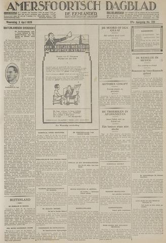 Amersfoortsch Dagblad / De Eemlander 1929-04-03